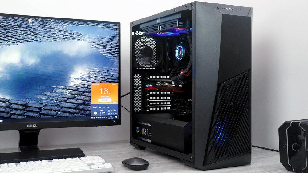 闷骚灯、劲电、强散热,酷冷至尊K501L机箱+金牌650V2电源体验