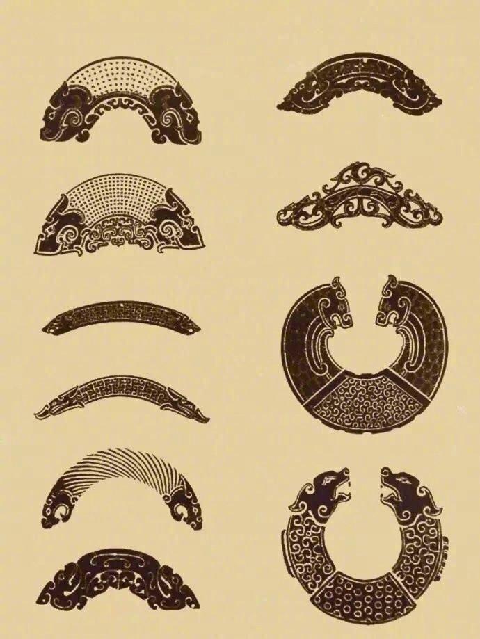 中国传统吉祥纹理元素参考