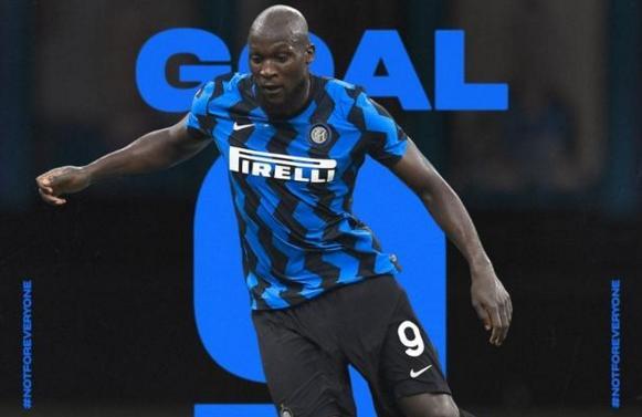 2020-21赛季意甲第一轮补赛的一场焦点战中,国际米兰客场5-2大胜贝内文托