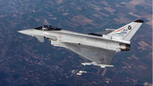 德空军首次进入前苏加盟共和国执行任务,EF-2000令人瞩目