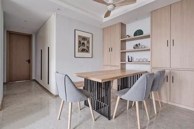 120m²现代简约家居设计,实用性和美观性兼具,色彩搭配很有质感