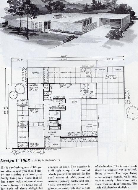 20世纪建筑设计平面