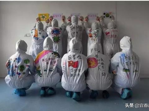 一组镜头带你见证宜春白衣战士的初心,向白衣天使们致敬!