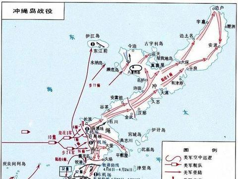 二战1945年冲绳岛战役的地狱公路隐藏在路边的日军火炮