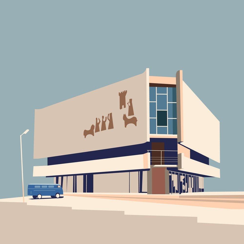 Nvard Yerkanian 图解亚美尼亚现代主义建筑