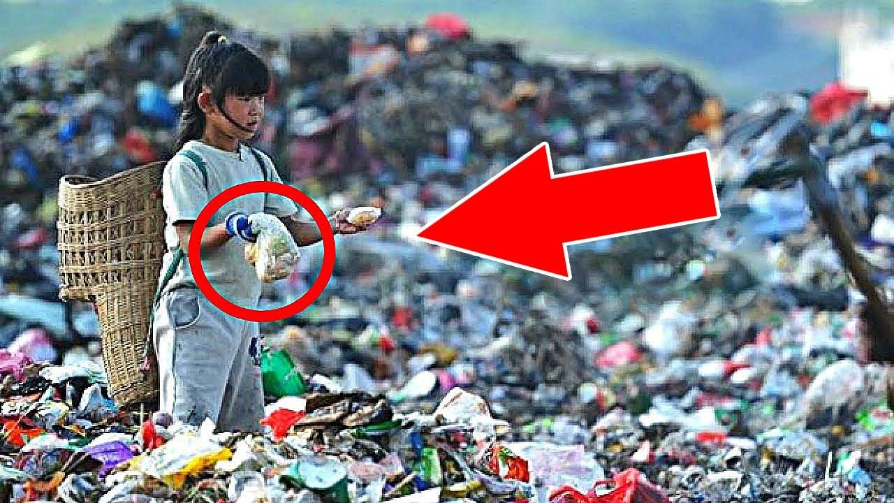 5个在垃圾堆中捡到巨额宝藏成为百万富翁的幸运儿