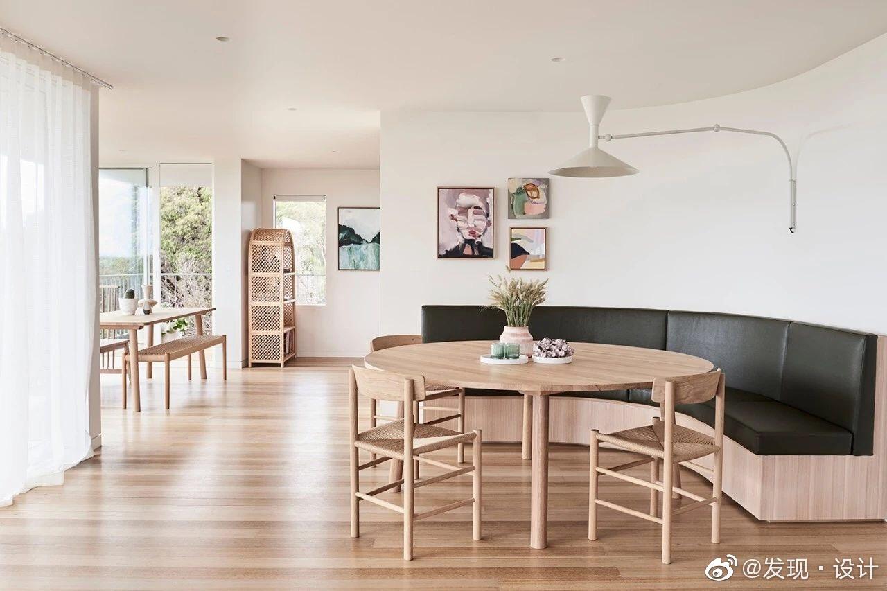 两居室简约住宅,原木家具➕藤编元素,好看