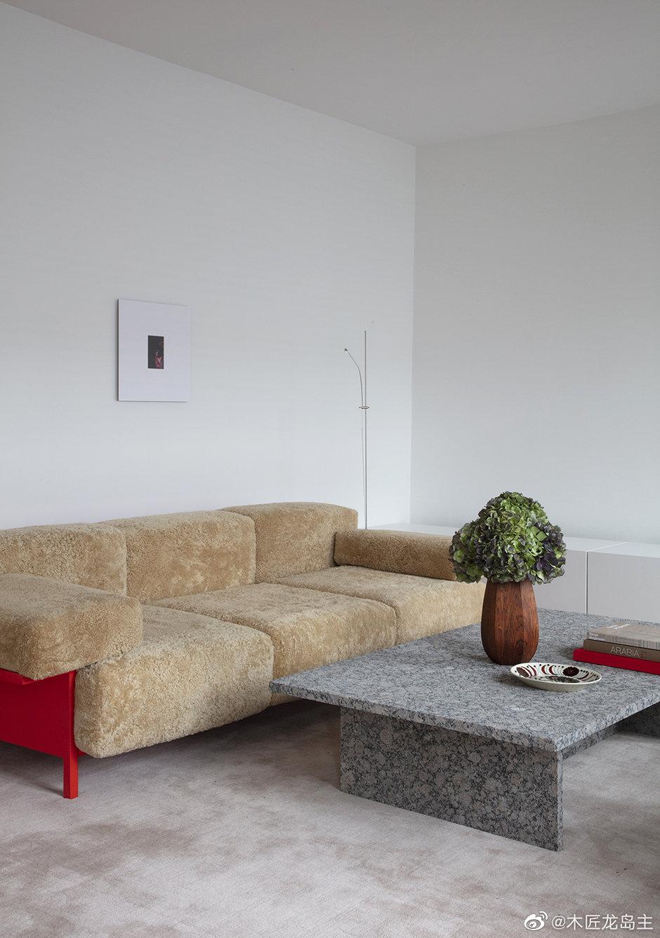 从沙发到厨房的所有事物都是由哥本哈根家的建筑师设计 在使用恰到好