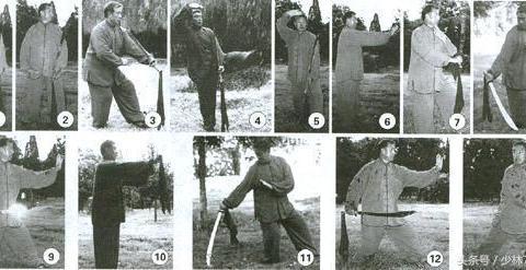 形意六合刀套路练习,超详细,传统武术大家不妨都了解一下!