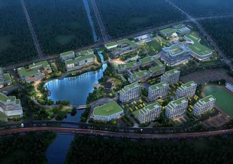 余杭此地第一所大学开建!2022年5月完工!