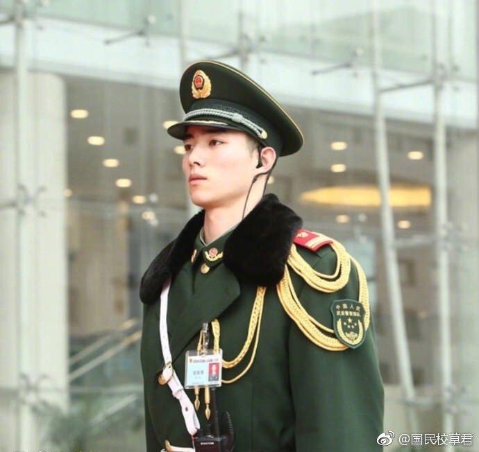 帅哥都上交给国家了:我的中国军人!