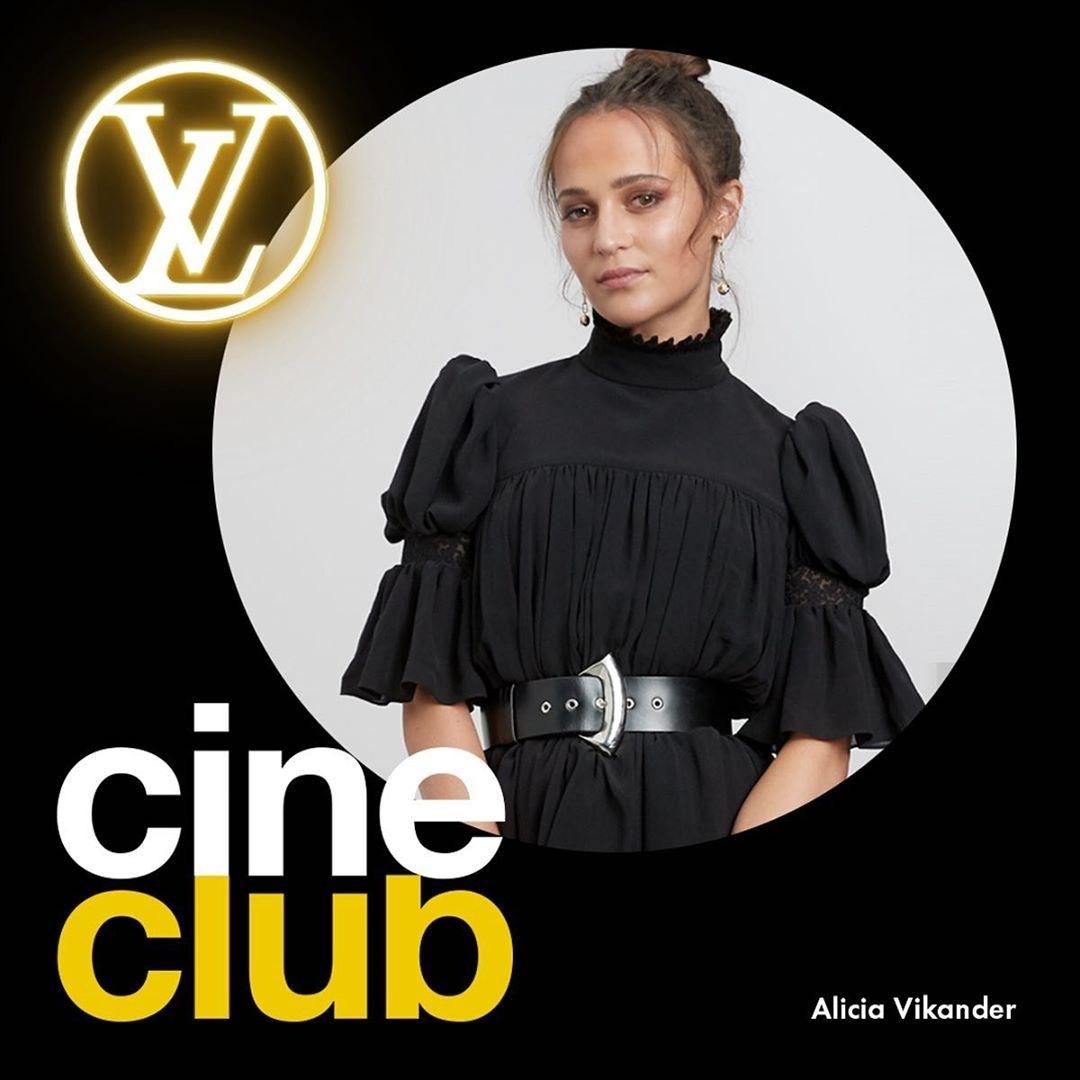 """""""坎妹""""艾丽西亚·维坎德 作为LV代言人分享了疫情期间的观影片单《"""