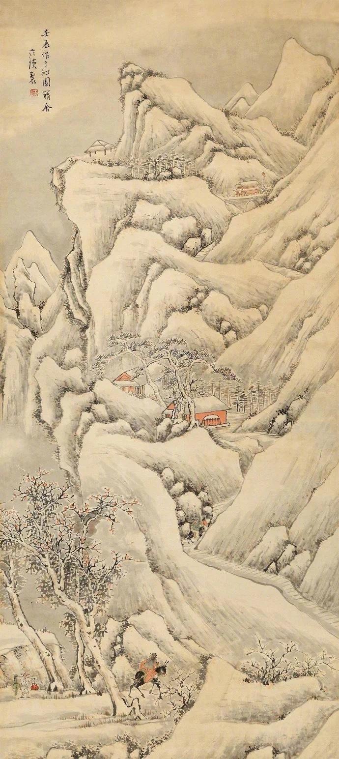 齐白石画雪景,见过吗?