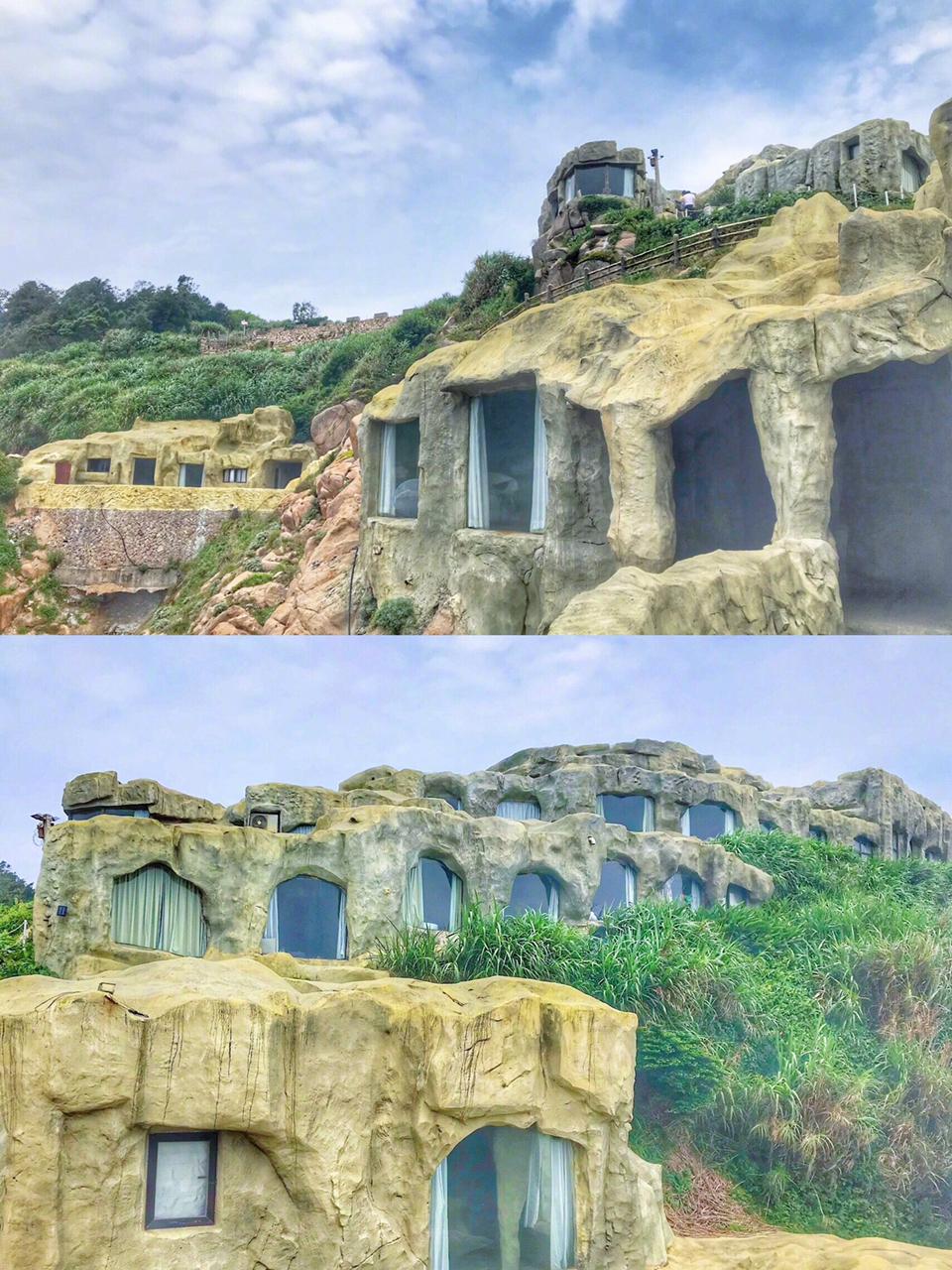 南麂岛|国内罕见的悬崖洞穴海景民宿。