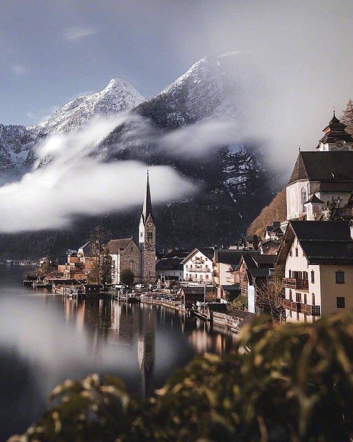 奥地利最美小镇 哈尔斯塔特
