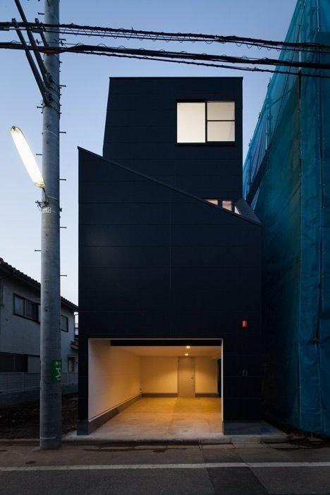 黑色建筑设计