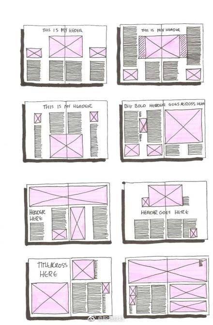 平面设计排版、书面设计排版、模板样式参考!