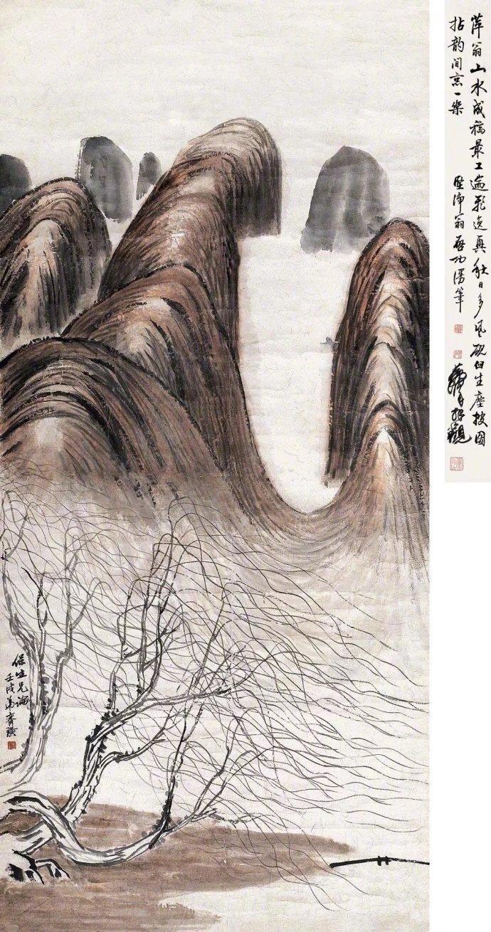 1932 年,徐悲鸿为齐白石选编《齐白石画册》并作序,选用 作品35幅