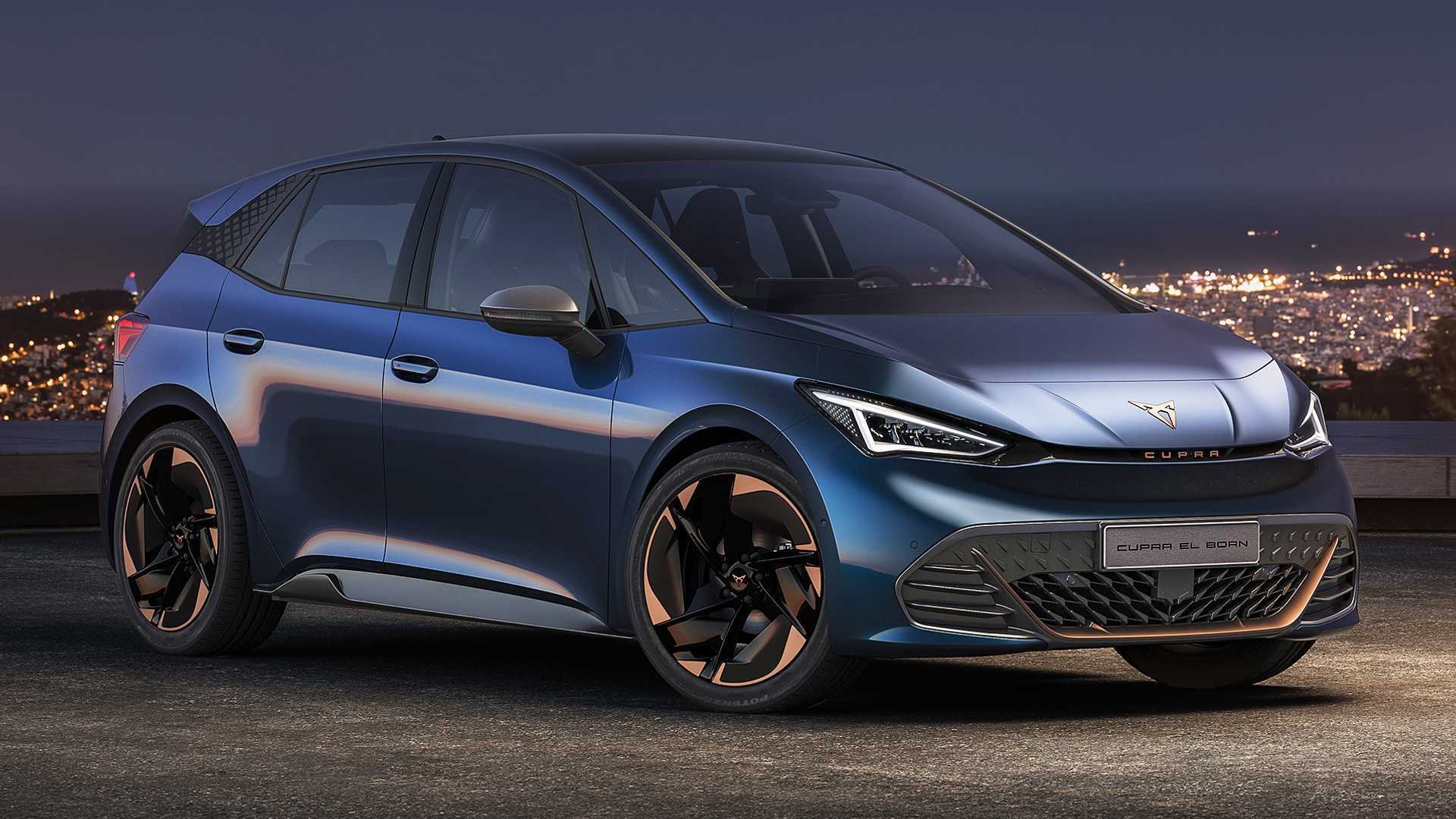 Cupra el-Born准量产版官图发布,新车定位为紧凑型纯电动车