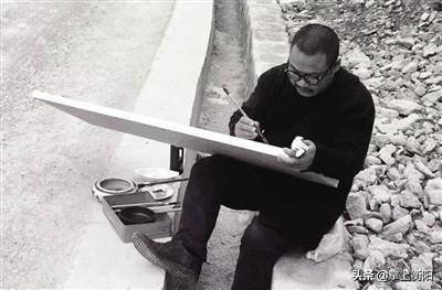 """他是7年高考""""钉子户""""、湖南籍第一位山水画博士"""