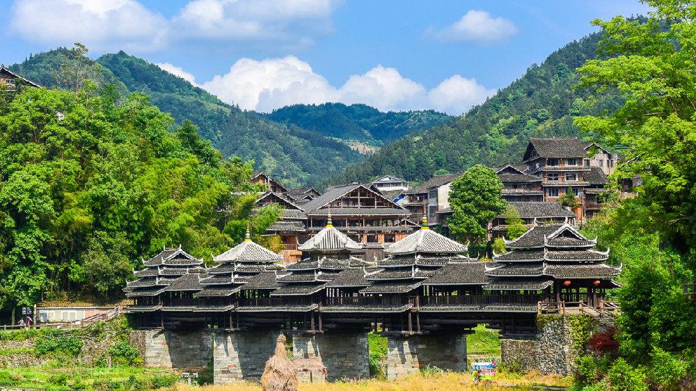 广西最美的风雨廊桥,郭沫若为其代言,已申报世界文化遗产