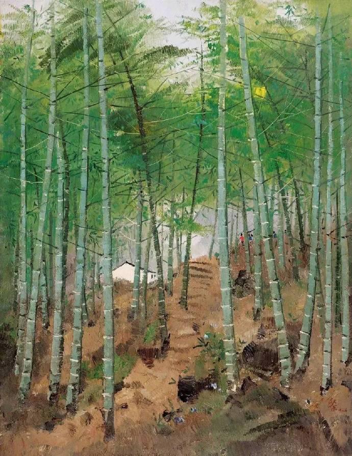 ◱ 疏影月移壁,寒声风满堂◪ 吴冠中笔下的竹子