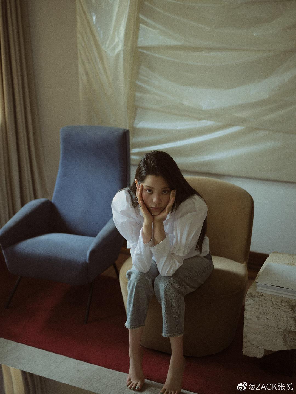欧阳娜娜|杂志写真神奇可爱的女孩