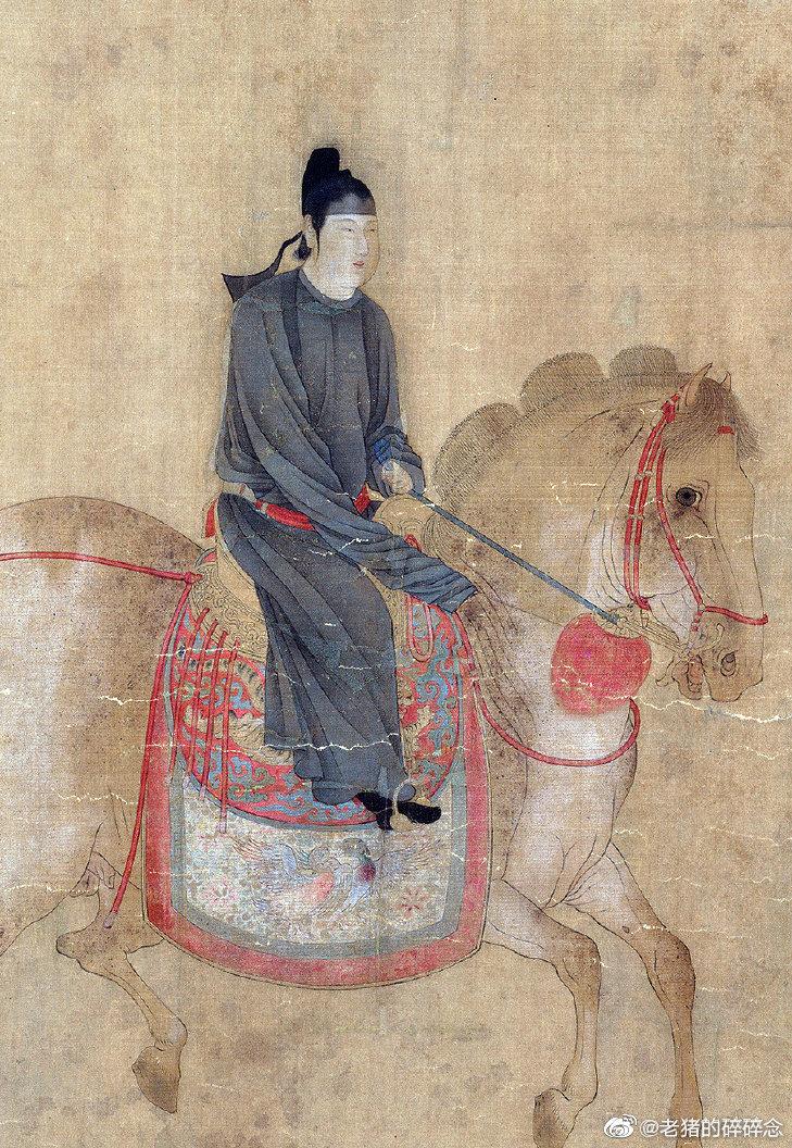 十大传世名画|虢国夫人游春图
