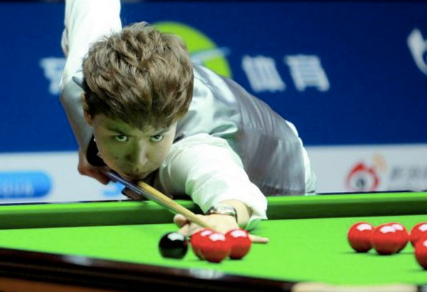 颜丙涛能夺1-2个世锦赛冠军,肖国栋轰2杆50,2-0轻取史蒂文斯