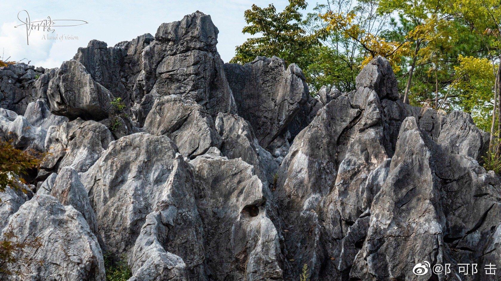 千岛湖石林景区面积20平方公里,是中国四大石林之一