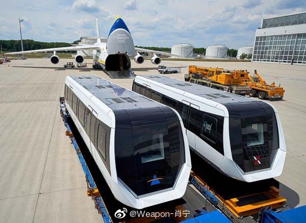 乌克兰安东诺夫航空公司使用安-124-100型重型运输机
