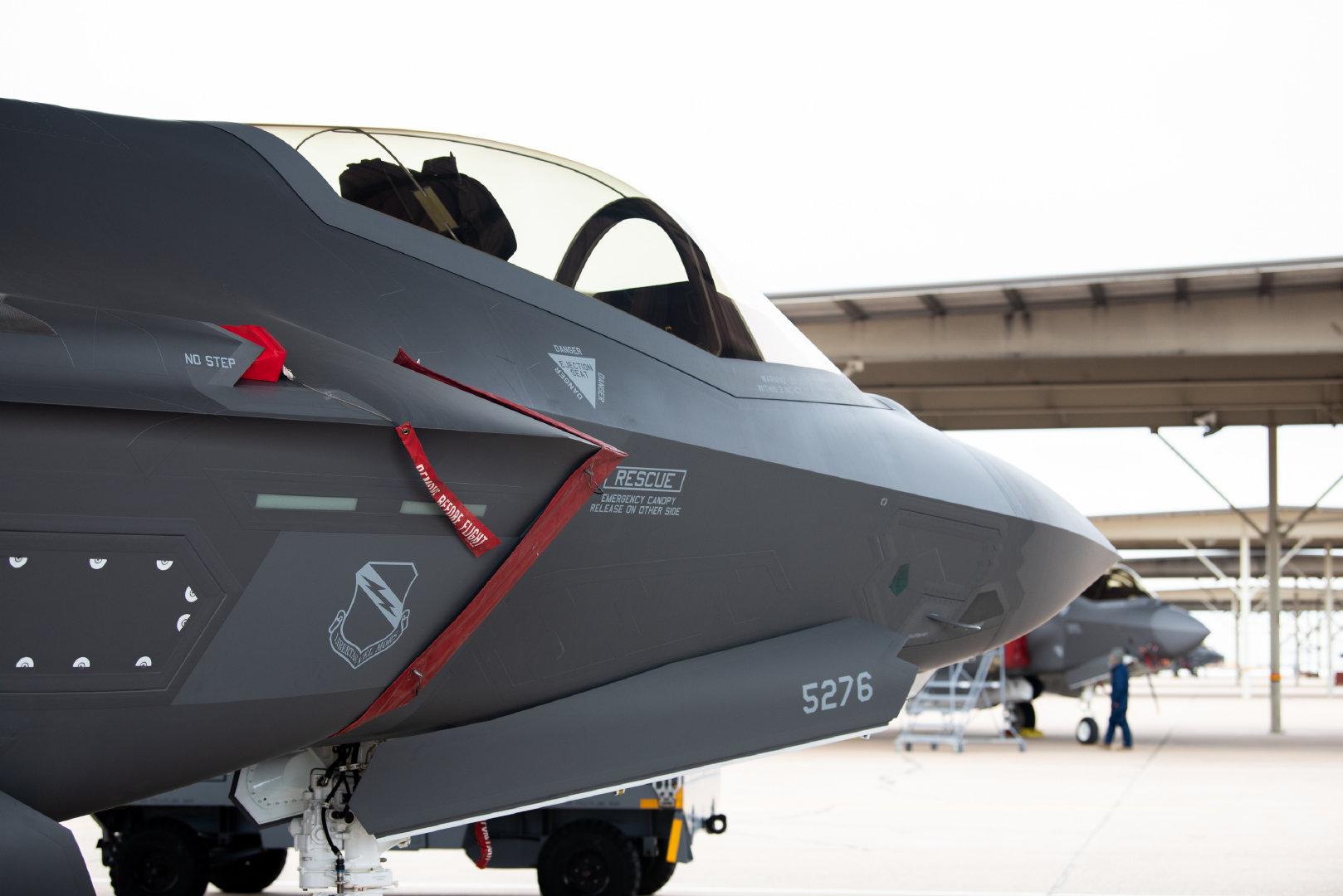 第388战斗机联队于12月17日收到了最后一架F-35A Lightning II飞机