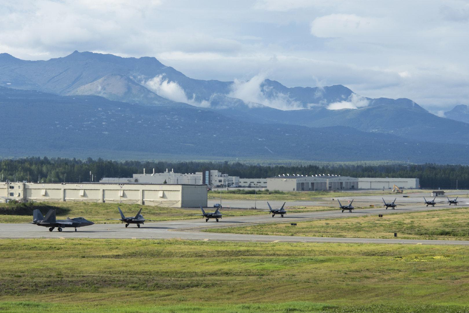 2020年8月7日,阿拉斯加埃尔门多夫理查德森联合空军基地