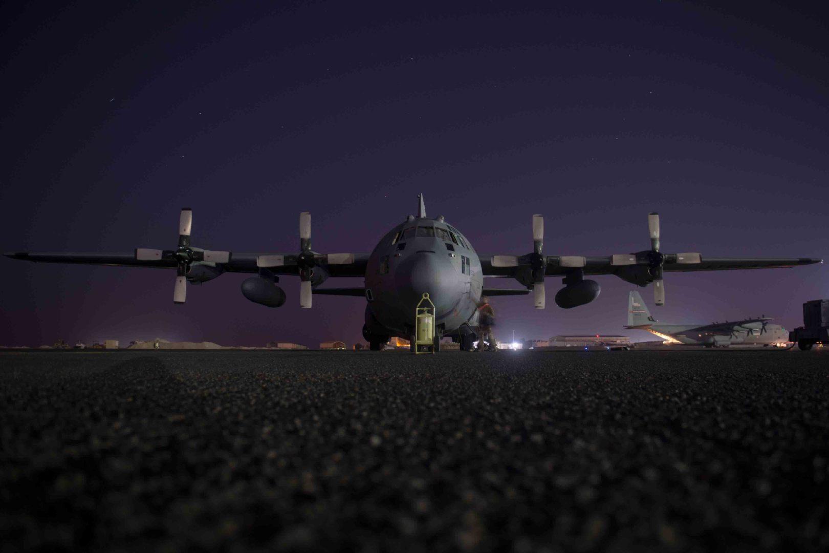 美国空军和陆军共同为CENTCOM防空和导弹防御演习 2020年10月22日