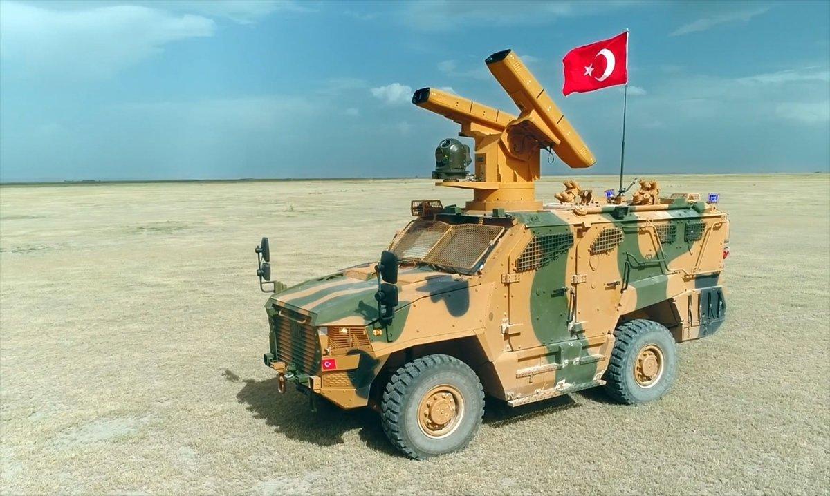 土耳其新型防空导弹,看起来那么的瓦力