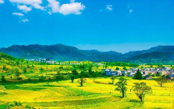 世外桃源,黔县卢村。