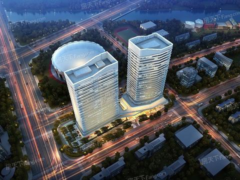 2021年4月杭州市滨盛商圈写字楼市场租赁情况