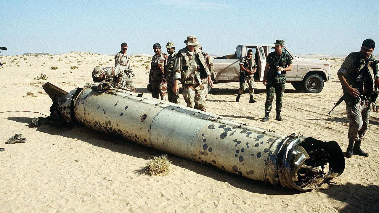 沙特联军拦截一枚来自也门境内弹道导弹