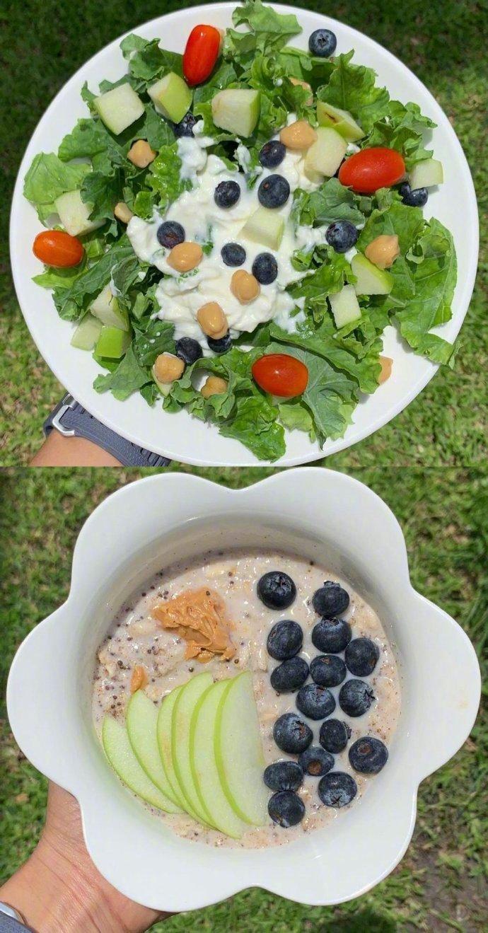 分享一位泰国女生成功减重30斤的每日减肥餐食谱搭配!