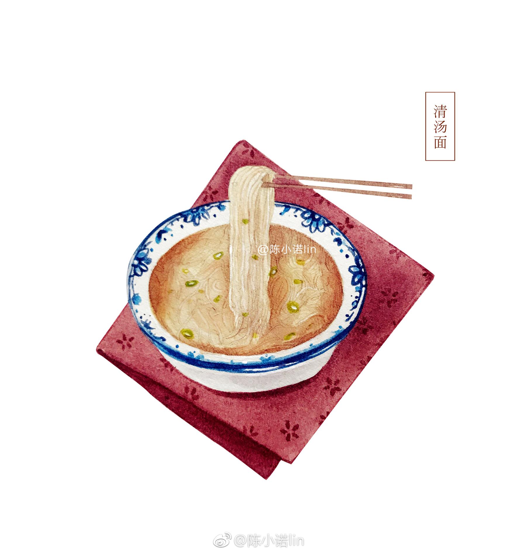 手绘家乡美食✨  (作者:@陈小诺lin  )