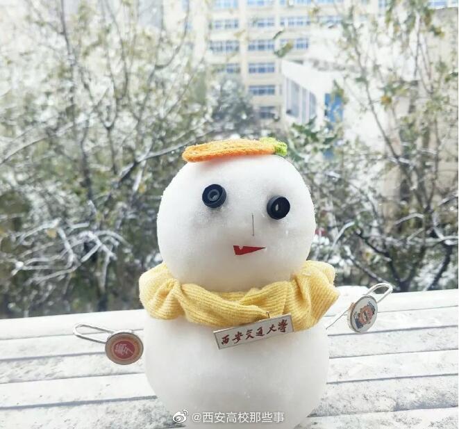 2020年陕西高校雪人PK大赏!哪个最有才