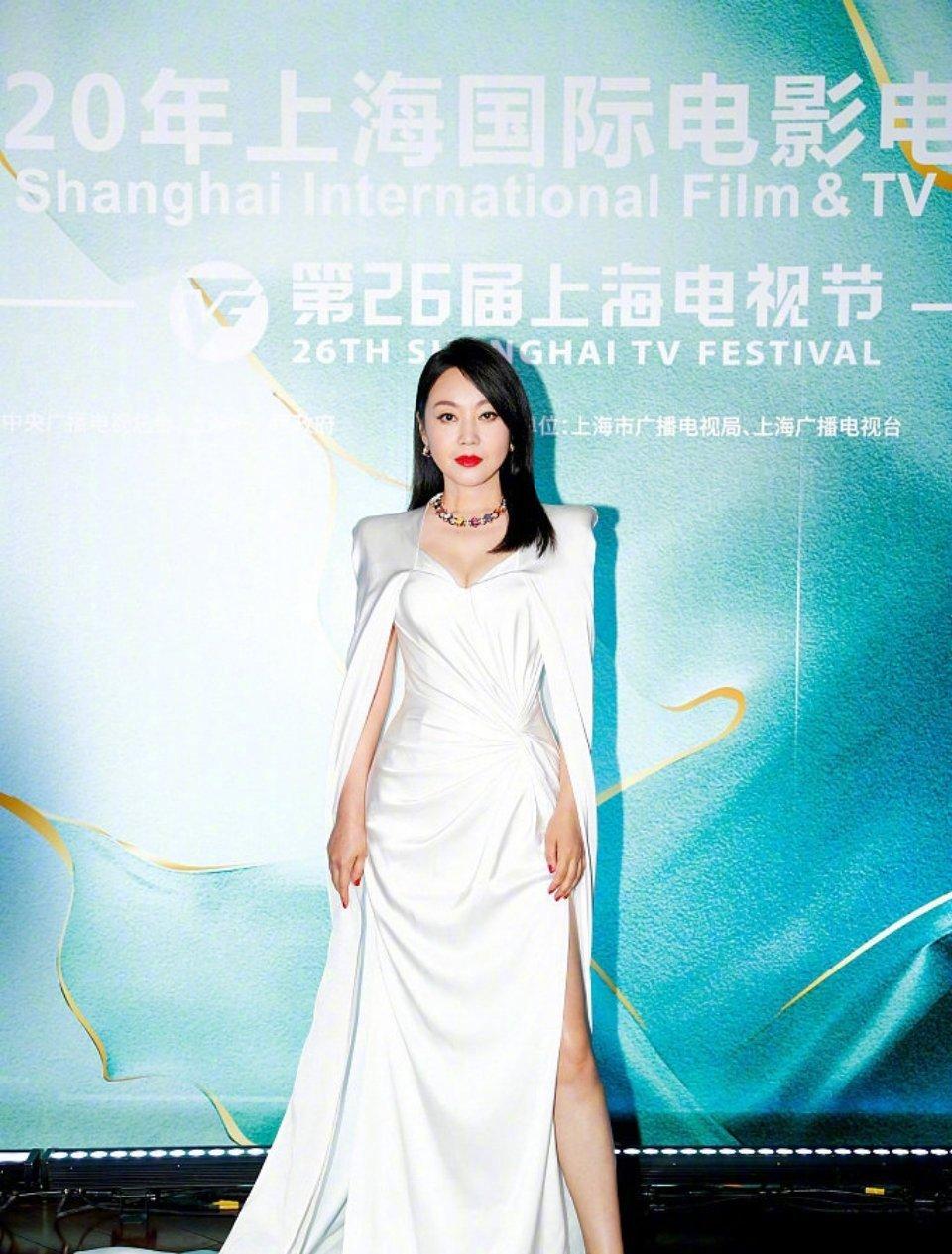 恭喜闫妮凭借《少年派》王胜男一角获得最佳女主角奖