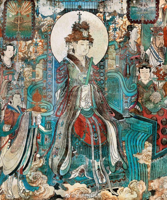 永乐宫壁画|三清殿壁画朝元图