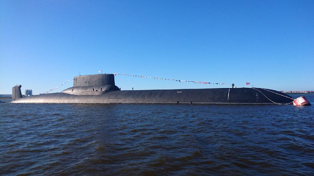 台风级核潜艇被俄退役,北风之神取而代之,强化海上核威慑