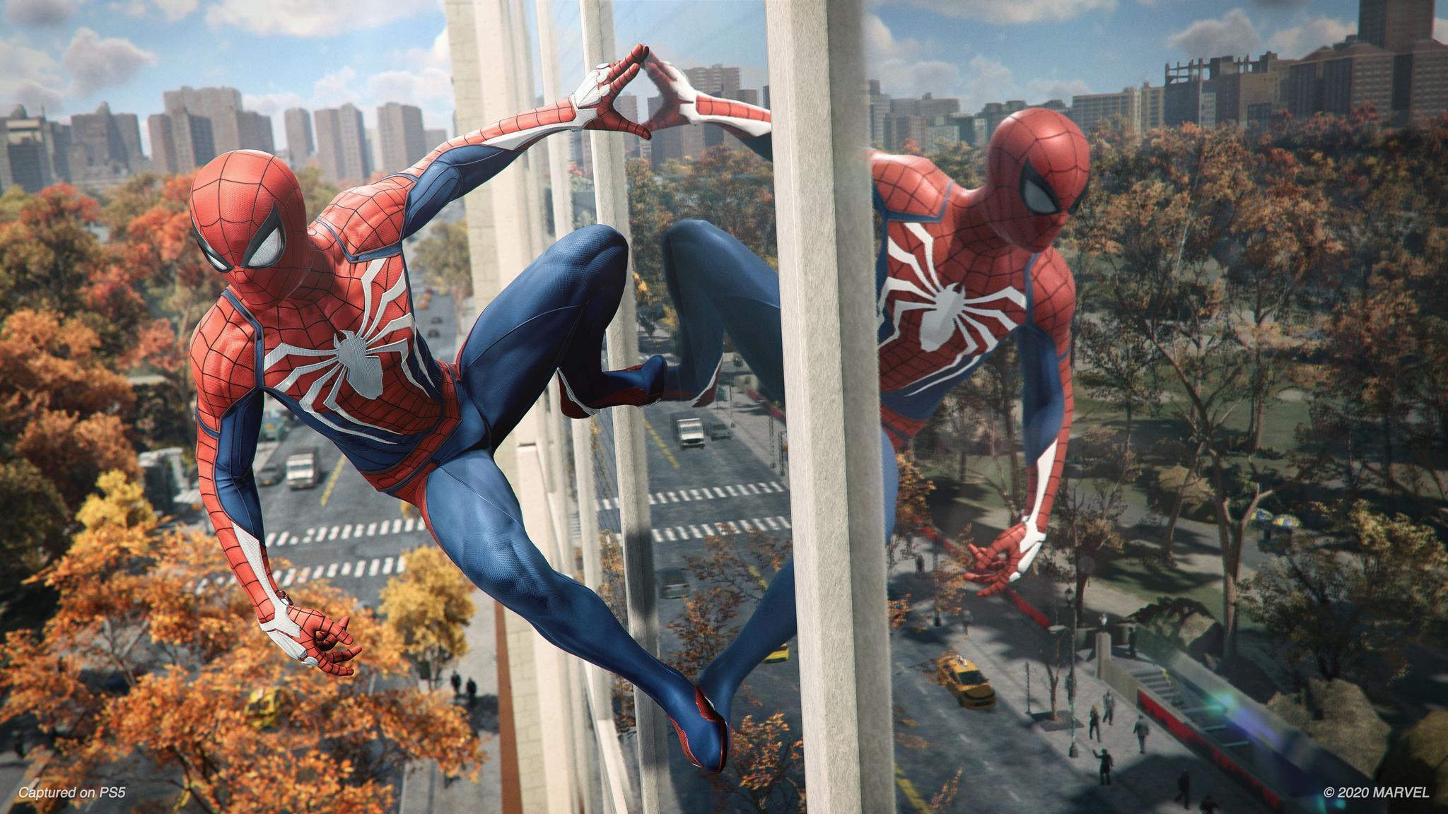 PS5《蜘蛛侠 Remastered》游戏截图,本作将在11月12日推出。