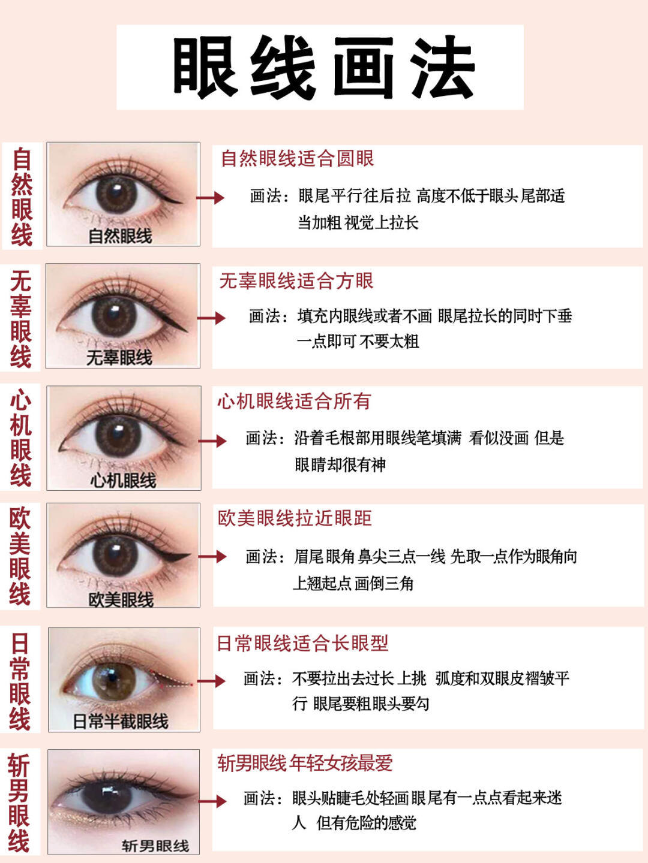 眼妆教程❗️手残党一看就会的眼妆⭕️眼线液笔