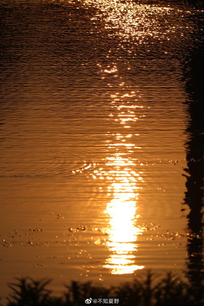 每一次看日落,都是想你的颜色@不知夏野