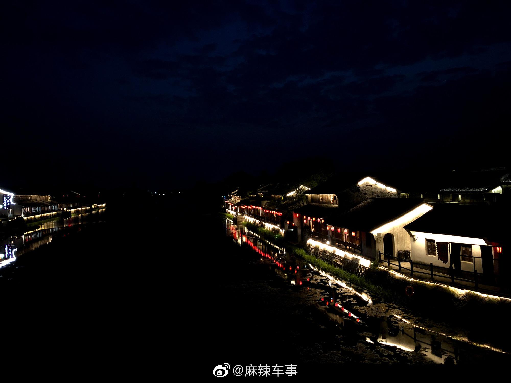 塘栖镇,著名的京杭大运河穿镇而过