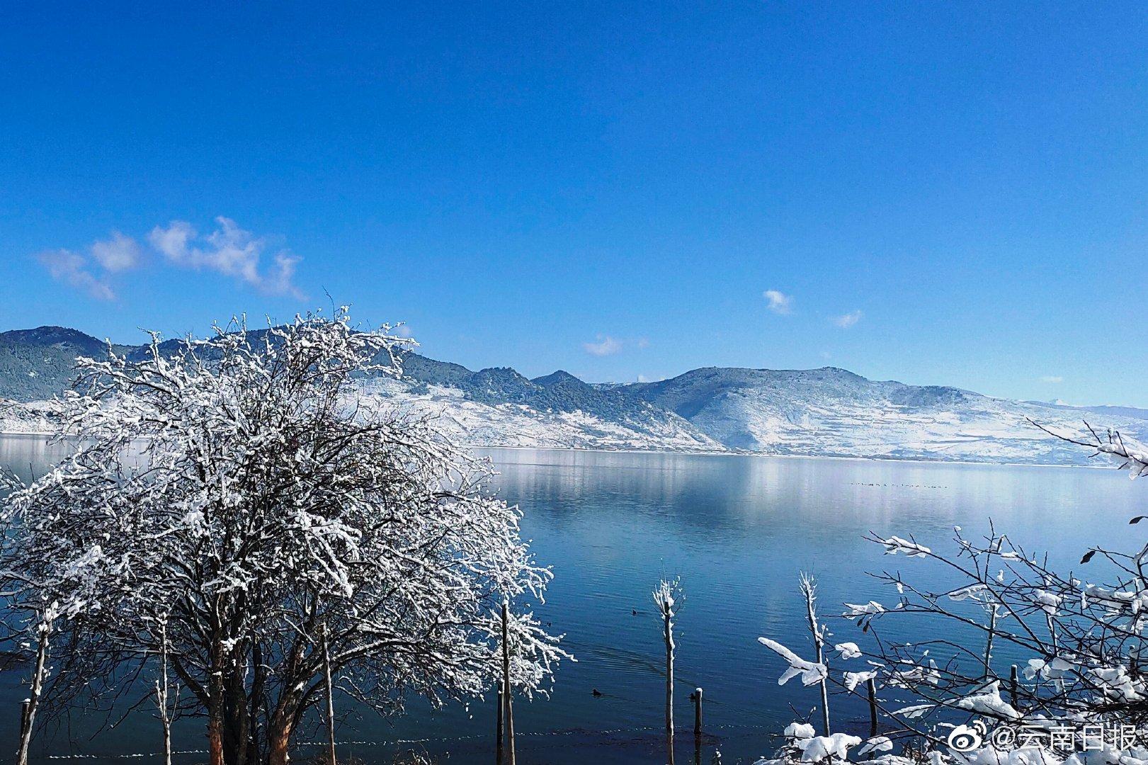 初雪后,去香格里拉纳帕海寻找人间仙境