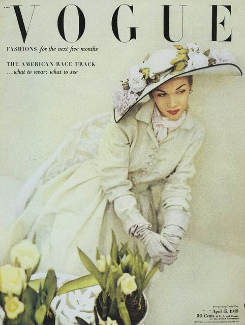 VOGUE杂志复古封面